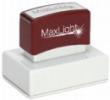 "XL2-165 MaxLight Custom Pre-Inked Stamp  1 1/2"" x 2 1/2"""